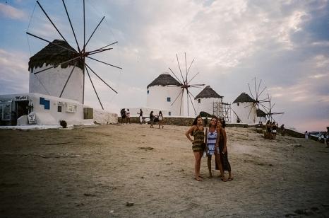 12. Windmills in Mykonos copy