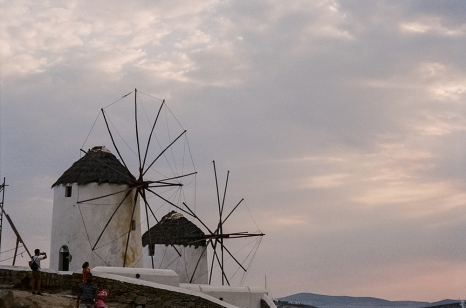 13. Windmills in Mykonos copy