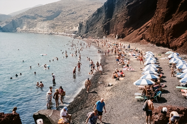 20. Akrotiri (Red Rock) Beach - Santorini copy