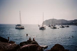 21. Akrotiri (Red Rock) Beach - Santorini copy