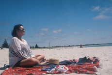 Mum at Middleton Beach copy
