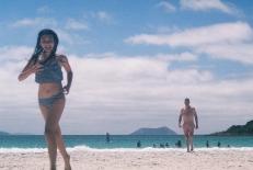 Tess & Dad at Middleton beach copy